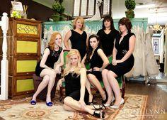 Alicia's Bridal Employees - Toni Lynn Photography #staffphoto #groupposing @Toni Palmer Gundlach