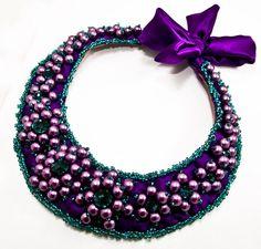 Colier Emerald (1 LEI la Quadrille.ro.breslo.ro) Emerald, Beaded Necklace, Jewelry, Beaded Collar, Jewlery, Pearl Necklace, Jewerly, Schmuck, Beaded Necklaces