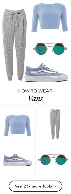 """""""Sem título #3159"""" by ana-bieber on Polyvore featuring Vans, Related and Collectif"""