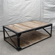 coffee table- great website for distressed furniture