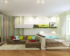 дизайн зала-спальни в квартире фото: 17 тыс изображений найдено в Яндекс.Картинках
