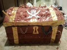 Treasure chest pinata!