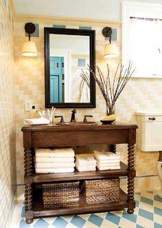 Diy Dresser To Sink Vanity How To Repurpose Old Furniture In A - Diy double sink vanity