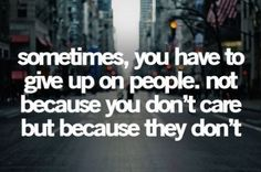 The sad truth..