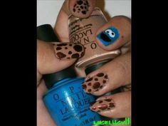 Cookie Monster Nails :) Cookie Monster Nails, Nail Art Videos, Hot Nails, Nom Nom, Hair Makeup, Art Ideas, Twitter, Youtube, Clothing