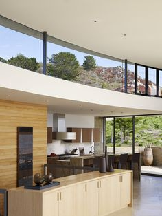 Fulcrum Structural Engineering | Open floor plan, windows above kitchen, great for beach house concept
