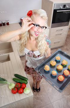 cooking in kitchen - Google Search