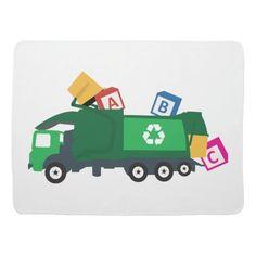 ABC Recycling Garbage Truck Baby Blanket for school, back to school ideas for teens supplies, 1st day of school procedure #backtoschoolevent #backtoschool2021 #BackToSchoolEssentials, back to school, aesthetic wallpaper, y2k fashion Abc Alphabet, Alphabet Blocks, Rubbish Truck, Soft Baby Blankets, Fleece Blankets, Back To School Essentials, Garbage Truck, School Decorations, Kids Room Art
