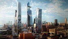 construção de complexo projetado por Kohn Pedersen Fox em Nova York