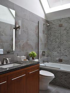 bath idea for middle bathroom
