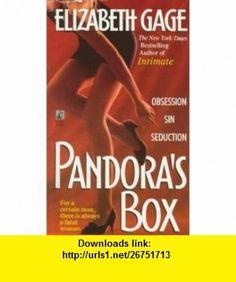 Pandoras Box (9780671743277) Elizabeth Gage , ISBN-10: 0671743279  , ISBN-13: 978-0671743277 ,  , tutorials , pdf , ebook , torrent , downloads , rapidshare , filesonic , hotfile , megaupload , fileserve