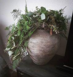 Is ie niet mooi ❤ voor een 1.5 mnd weer een andere kruiktoef.. prachtig.. beetje natuur in huis!! #landelijk #landelijkestijl #landelijkwonen #landelijkestijlenwonen #landelijkeherfst #kruik #kruiktoef #kruikpot #toef #groendecoratie #groeninhuis #festoen #interiorstyling #interiorinspiration #homedeco #decohome #interieurinspiratie #interieurstyling #interieurdecoratie