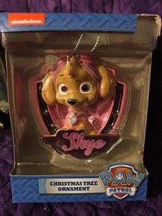 NEW Paw Patrol Skye Christmas Tree Ornament Nickelodeon Spin Master