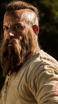 Viking Beard Styles, Hair And Beard Styles, Bald With Beard, Bald Men, Bald Actors, Buzz Cut Hairstyles, Bald Look, Vikings, Stubble Beard