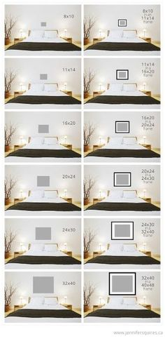 art sizes above bed Art Size for Above the Bed by nancy