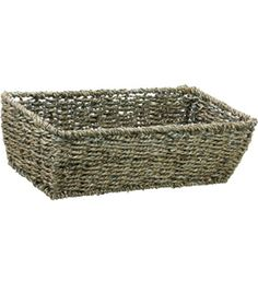 Keep various small accessories and items stored in the home or office with this Rectangular Storage Basket.