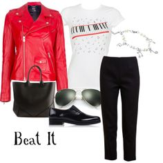 """Beat It"" by rizzo87 on Polyvore"