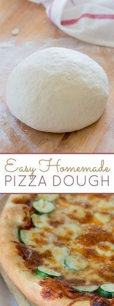 This basic Homemade Pizza Dough recipe works well in a standing electric mixer, but it's super satisfying to prepare it by hand, too. Offers directions for baking sheet or cooking stone! Pizza Recipes, Cooking Recipes, Skillet Recipes, Cooking Tools, Cooking Stone, Bread Recipes, Kitchen Aid Recipes, Kitchen Tools, Kitchen Gadgets
