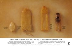 Sex hasn't changed much over the years. Fortunately condoms have