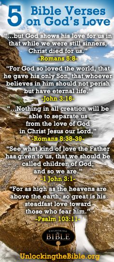 Bible verses on love | Bible Verses About Love: God's Love, Love for Neighbor, Christian ...