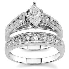 magnificent marquise diamond bridal wedding ring set design this diamond wedding ring set in platinum made glamorous sparkle - Marquise Wedding Ring