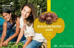 New in 2013 - Dulce de Leche Owls! candy@gsksmo.org.