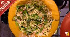 Cuscus Verdure Verdi e Gamberi di Benedetta Parodi