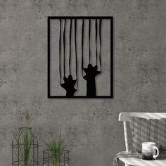 SCRATCH metal wall art - Modern Furniture Deals