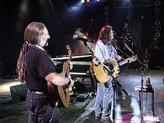 """Neil Young performs Ian Tyson's """"Four Strong Winds"""" with Willie Nelson and Mickey Raphael at the Farm Aid concert in Louisville, Kentucky on October 1st, 1995. Farm Aid was started by Willie Nelson, Neil Young and John Mellencamp in 1985 to keep family farmers on the land and has worked since then to make sure everyone has access to good food fr..."""