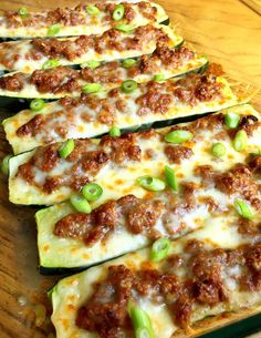 These taco stuffed zucchini are a healthier alternative to tacos or burritos, especially if you are looking for something naturally low carb. Stuffed