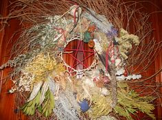 A Witchy Wreath Of Protection