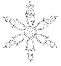 Crochet snowflakes, free crochet patterns Crochet snowflakes, free crochet patterns Always wanted to be able to knit, although uncertain where do you start? Crochet Diagram, Crochet Motif, Crochet Designs, Crochet Doilies, Crochet Flowers, Free Crochet, Knit Crochet, Crochet Snowflake Pattern, Crochet Stars
