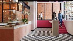 Peachy keen: Inside Little Frankie's. Adriano Zumbo, School Cafe, Italian Cafe, High Tea, New Recipes, Home Decor, Tea, Tea Time, Decoration Home