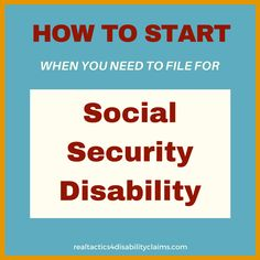 Do you wish to file for Social Security Disability and don't know where to start? The 5 Day File Your Disability Claim course was created for you.