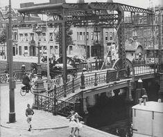 Crooswijk de oude ijzeren Zaagmolenbrug