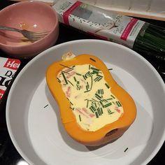 Butternut farçie comme une quiche | Audrey Cuisine