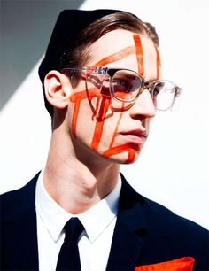 Men at Work Visual Tales Editorial Features Tribal Face Paint #topmensfashion