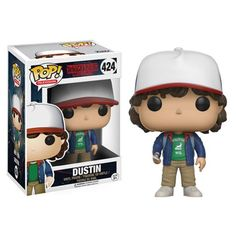 Stranger Things Dustin with Compass Pop! Vinyl Figure - Funko - Stranger Things - Pop! Vinyl Figures at Entertainment Earth