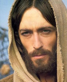 Jesus with sad eyes.  Beautiful.