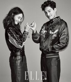 YoonA and Kai 'Make a Promise' in more photos for 'Elle' | allkpop