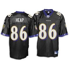 Todd Heap Ravens Black NFL Replica Jersey ( sz. M, Black : Heap, Todd : Ravens ) Reebok. $45.00