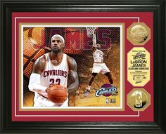 AAA Sports Memorabilia LLC - LeBron James Gold Coin Photo Mint - Cleveland Cavaliers, #lebronjames #clevelandCAvaliers #nba #nbacollectibles #sportscollectibles $99.99 (http://www.aaasportsmemorabilia.com/nba/lebron-james-gold-coin-photo-mint-cleveland-cavaliers/)