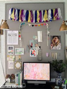 My DIY Bulletin Board | An Update