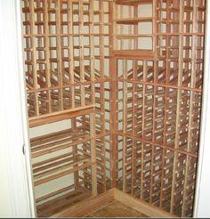 Small Residential Closet Wine Cellar