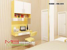 """<h2>Meja Belajar Dinding</h2> <p style=""""text-align: justify;"""">MB Furniture Minimalis merupakan salah satu industri Furniture Minimalis dari bahan multipleks yang melayani penjualan melalui toko online dengan berbagai pesanan produk furniture diantaranya <a title=""""Kitchen Set Murah"""" href=""""http://www.mbminimalis.com/shop/harga-jual-kichen-set-minimalis-jakarta-bogor-depok-tangerang-bekasi-expo-harga-gambar-katalog-terbaru-kualitas-bagus-mewah-murah-terbaru/kitchen-set-murah/"""" ..."""