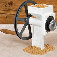 Country Living Grain Mill - Really... really want this... really.