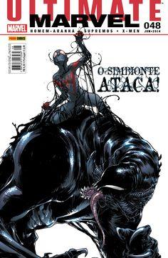 LIGA HQ - COMIC SHOP Ultimate Marvel #48 - Reposições PARA OS NOSSOS HERÓIS NÃO HÁ DISTÂNCIA!!!