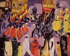 Jacob Lawrence, Parade 1960