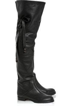 Chloe Flat Over The Knee Boots