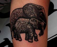 mom and baby <b>elephant</b>! | <b>Tattoo</b> Ideas | Pinterest